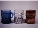 Cobalt, Crystal, and Chocolate Shuttle Mugs