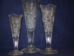 Crystal Pattern 75 Vases