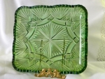 Pattern #75: Rectangular Tray, Emerald Green
