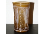 Golden Agate Holly Tumbler