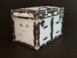 Milk Glass Pan Am Expo Trunk